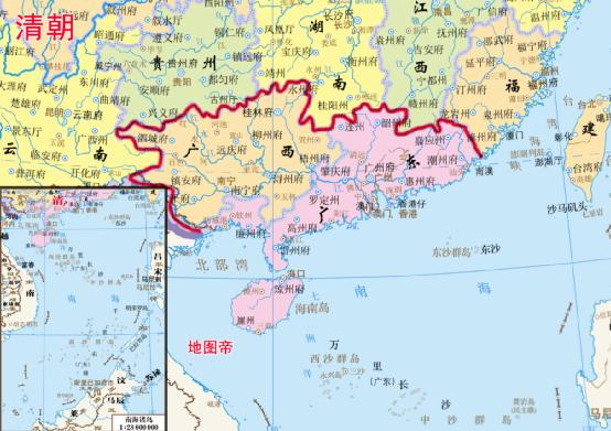 清朝八大总督都有哪些,辖区是哪里?